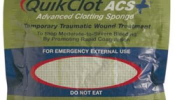 QuikClot - środek do tamowania krwotoków