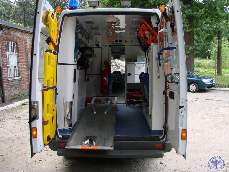 Ambulans Mercedes Sprinter 313 CDI