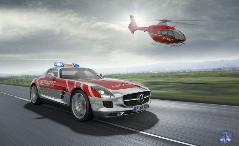 Mercedes SLS AMG Emergency Medical