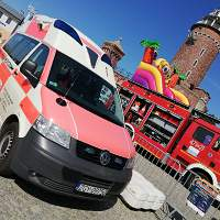 Port w Kołobrzegu, ambulans MIL-MED