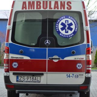 Ambulans Mercedes Sprinter 319 CDI-34