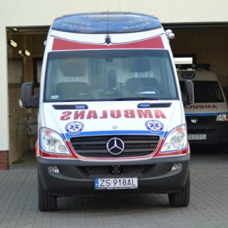 Ambulans Mercedes Sprinter 319 CDI-30