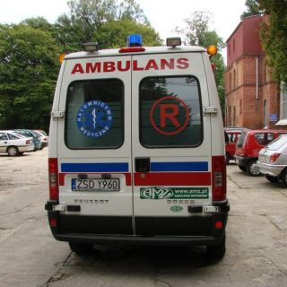 Ambulans Peugeuot Boxer