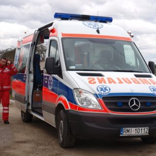 Ambulans Mercedes Sprinter 318 CDI
