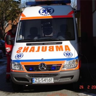 Ambulans Mercedes Sprinter