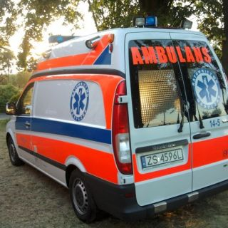 Ambulans Mercedes Vito