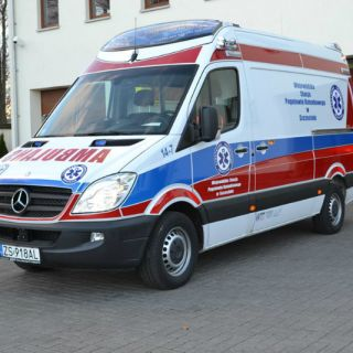 Ambulans Mercedes Sprinter 319 CDI