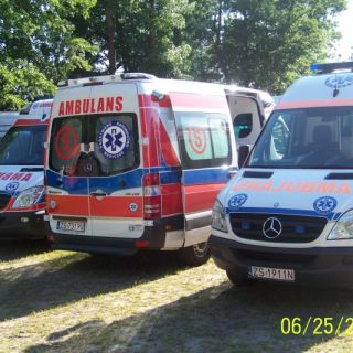 Ambulansy Mercedes Sprinter