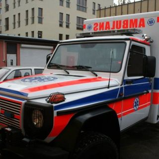 Ambulans Mercedes G